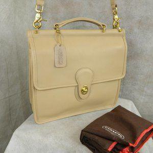 COACH VINTAGE WILLIS Bag #0846-303 (#9927) RARE!